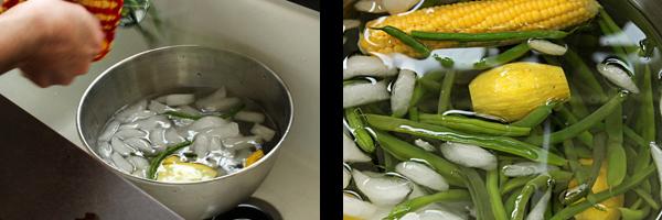 prepare ice bath