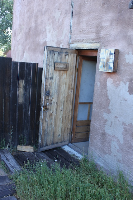 Cool Back Door of Adobe Inn