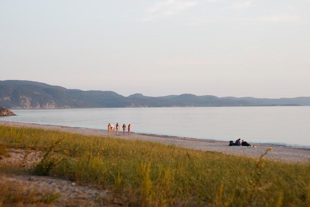 Agawa Campground Beach