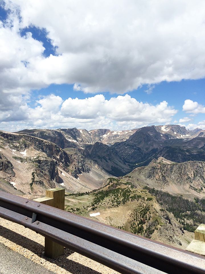 "The Beartooth Highway is gorgeous. I believe the other name for it if you are coming from the Wyoming side is ""Chief Joseph Highway."" Same thing. Gorgeous."
